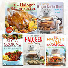 Halogen Oven Cookbooks Collection 5 Books Set Everyday Family Recipes Pack NEW