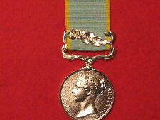 FULL SIZE CRIMEA MEDAL WITH BALAKLAVA CLASP MUSEUM COPY MEDAL WITH RIBBON.