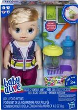 BABY ALIVE SWEET SPOONFULS BABY BOY BLONDE - PLAYSET TOY - NEW BOXED