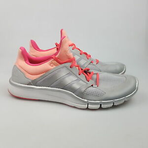 Women's ADIDAS 'Adipure 360.3' Sz 9.5 US Runners Silver ExCon | 3+ Extra 10% Off