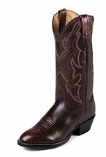 Nocona Mens 1663630403 Vintage Dark Brown Sueded Toro Western BOOTS 11d
