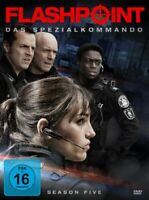 Flashpoint Complete Season 5 -TV Series -The Special Command NEW UK REGION 2 DVD