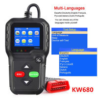 Universal KW680 OBD2 OBDII CAN Car Fault Code Reader Engine Diagnostic Scanner