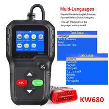 Universal KW680 OBD2 OBDII CAN Car Fault Code Reader Engine Diagnostic Scanner
