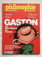 Magazine Philosophie Gaston BD HORS SERIE N 35 / FRANQUIN / 2017 SPIROU TINTIN