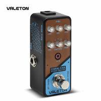 Valeton Coral Cab IR Cabinet Simulator of 28 Guitar Bass Cabs Studio Recording