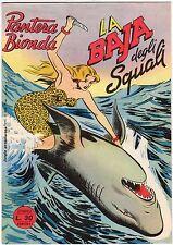 fumetto PANTERA BIONDA ANNO 1954 COLLANA JUNGLA AVVENTUROSA NUMERO 21 EDICOLA