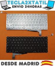 """TECLADO PARA PORTATIL Apple MacBook Pro 15"""" A1286 (EMC 2556) año 2008 EN ESPAÑOL"""