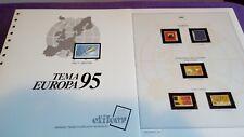 hojas sellos europa cept, Efilcar especial 1995.