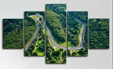 Nurburgring Track Circuit Rally 5 Pieces Canvas Wall Art Poster Print Home Decor
