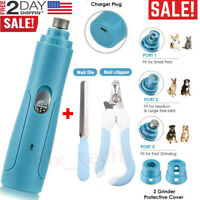 Electric Pet Paws Nail Trimmer Grinder Grooming Tool Kits For Dog Cat Claw Care