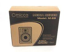 Micca M-6S 6.5-Inch 2-Way In-Wall Speaker
