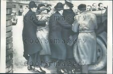 1957 Police & Striking Engineers Scuffle Manchester England Press Photo