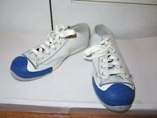 MENS PRO-KEDS LT GRAY/WHITE/BLUE SUEDE & LEATHER SNEAKERS SIZE 10