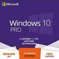 🔑WINDOWS 10 PRO PROFESSIONAL 🔑GENUINE LICENSE  KEY ✅ INSTANT DELIVERY ✅