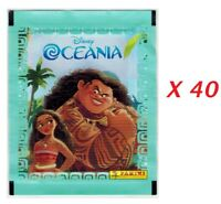 Disney Moana Lot 40 Packs Stickers Panini