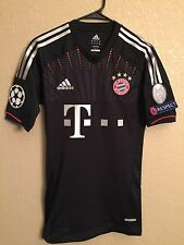 Germany  bayern Munich Player Issue Techfit No Formotion Shirt  Football jersey