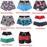 Men 's Swim Trunks Mesh Lining Beach Shorts with Pockets Quick Dry Swimwear Hot
