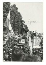 Lech Walesa Signed Photo / Polish Activist Autographed