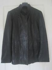 Genuine Black Leather Ladies Jacket from John Lewis Size 10
