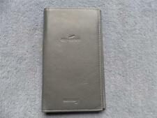 British Airways Concorde Calf Leather Document And Note Pad Wallet 1990's