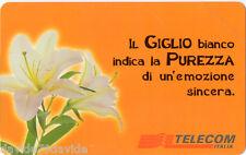 SCHEDA TELEFONICA - IL GIGLIO - CAT. GOLDEN LIRA 935 - NUOVA