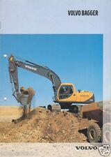Equipment Brochure - Volvo - Excavator Product Line - Bagger - 2000 (Eb593)
