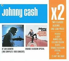 At San Quentin/Orange Blossom Special [Box] by Johnny Cash 2 CD NEW