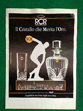 (OC5) Pubblicità Advertising Ads Werbung - RCR ROYAL CRYSTAL ROCK cucina