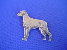 Rhodesian Ridgeback Pin #60A  Pewter Coursing dog jewelry by Cindy A. Conter