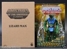 2015 MOTU Lizard Man MOTUC Masters of the Universe Classics MOC