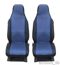 2 Auto Sitzbezug Sitzbezüge Schonbezüge Einteilig Blau
