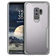Samsung Galaxy S8/S9/Plus New TPU Bumper Crystal PC Hybrid Clear Back Panel Case