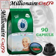 90 Capsula Caffè Borbone Miscela Dek Compatibili Dolce Gusto Nescafè