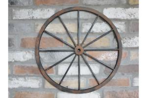 Nr.5483 Neues Wagenrad Leiterwagen Rad Kutschenrad Dekoration Dekorad Partydeko