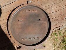 Tampon de chargement (couvercle en fonte) Poêle à bois Godin 3731 ou 3721