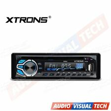 XTRONS SINGLE ONE DIN IN DASH CAR STEREO RADIO CD DVD PLAYER AUX MP3 MP4 USB SD