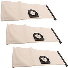 3 x Lavable Réutilisable aspirateur chiffon Sac à poussière pour Vax 25-040