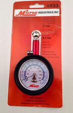 Milton s933 160 Lb Low Pressure Tire Measurement Gauge