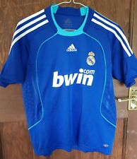 "Real Madrid Adidas Away Camiseta 2008-09, Kids 30""/32"", Buen Estado"