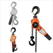 Manual Lever Chain Hoist 05t 075t 15t Lift Puller Pulling Come Along Hooks
