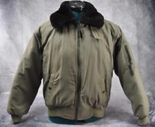 Eddie Bauer Women's Goose Down Coat Jacket Faux Fur Collar Petite Large