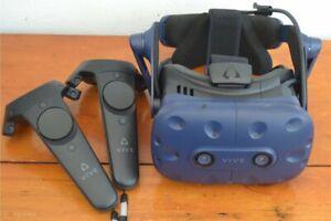 HTC VIVE Pro 1 VR PC + 2 Base Station 1.0 FULL OPTIONAL