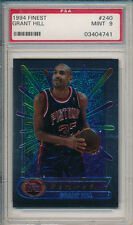 Grant Hill Duke Pistons 1994 Finest Basketball 240 Rookie Card rC PSA 9 Mint QTY