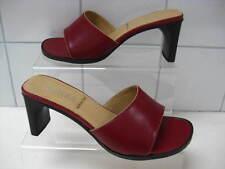 NEW BNIB Ladies JONES BOOTMAKER red leather HIGH SANDALS heels size UK 5 JACOBA