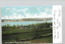 pk36742:Postcard-New London & Thames River from Groton,Connecticut