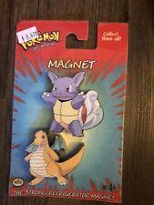 Pokemon Vintage Sealed Hasbro Toys - Magnets Wartortle & Dragonite