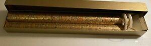 GOLD FOIL WRAPPING PAPER SET - EGYPTIAN MOTIF - UNIQUE!