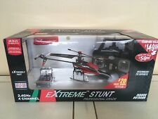 Extreme stunt 4D Full Function Helicopter, 2.4 GHz, 4CH RED, NEW UNOPENED