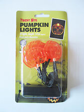 SPOOKY MINI PUMPKIN BATTERY LIGHTS HALLOWEEN PARTY DECORATION BRAND NEW